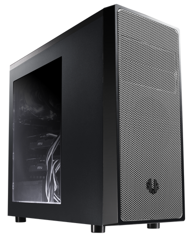 BITFENIX NEOS MID TOWER BLACK & SILVER - 991 Solutions - RSA  - 1