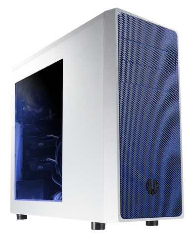 BITFENIX® NEOS MID TOWER WHITE & BLUE - 991 Solutions - RSA  - 1