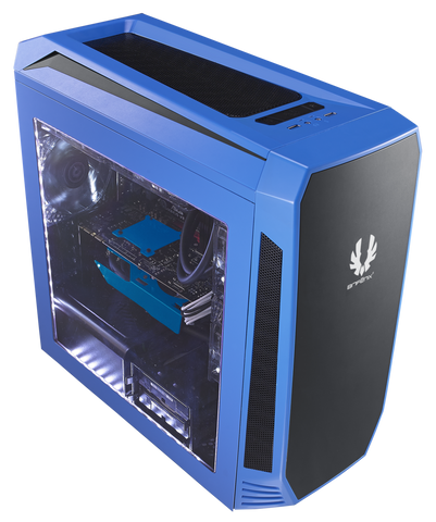 BITFENIX® AEGIS BLUE - M-ATX TOWER - 991 Solutions - RSA  - 1