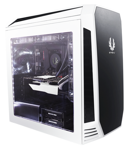 BITFENIX® AEGIS WHITE - M-ATX TOWER - 991 Solutions - RSA  - 1