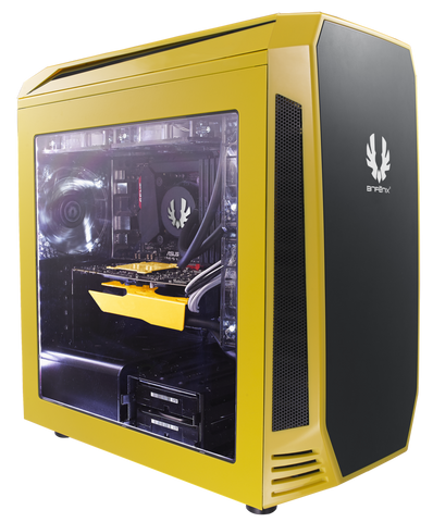 BITFENIX® AEGIS YELLOW- M-ATX TOWER - 991 Solutions - RSA  - 1