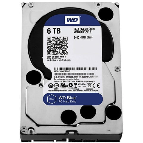 "WD BLUE 3.5"" - 6.0TB - 991 Solutions - RSA"