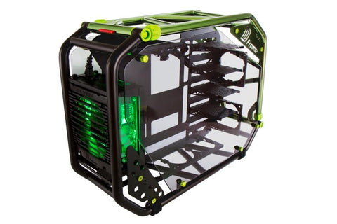 IN-WIN CA03 D-FRAME 2.0 2.0 BLACK+GREEN - 991 Solutions - RSA  - 1