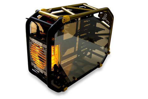 IN-WIN CA03 D-FRAME 2.0 BLACK+YELLOW/GOLD - 991 Solutions - RSA  - 1