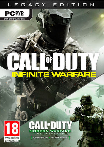 CALL OF DUTY - INFINITE WARFARE LEGACY - 991 Solutions - RSA