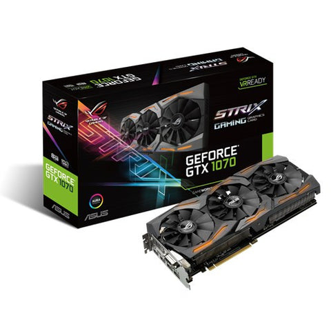 ASUS STRIX-GTX1070-8G-GAMING Graphics Card - 991 Solutions - RSA  - 1