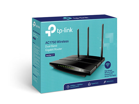 TPLINK® AC1750 Wireless Dual Band Gigabit Router Archer C7