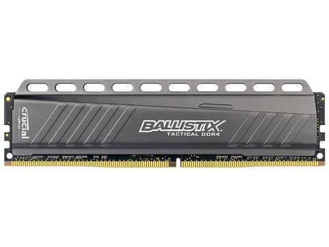 Ballistix Sport LT 8GB DDR4 2400MHz Desktop Gaming Memory Grey