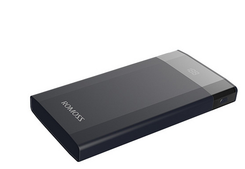 ROMOSS DP10 10000MAH POWER BANK BLACK