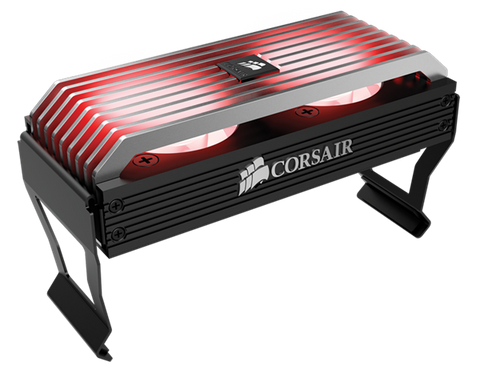 CORSAIR CMDAF DOMINATOR AIRFLOW PLATINUM LED MEMORY COOLER - 991 Solutions - RSA
