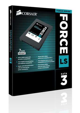 CORSAIR SSD 120GBLS 120GB FORCE LS SERIES - 991 Solutions - RSA  - 1