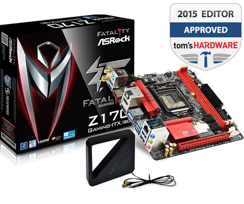 ASROCK® INTEL Z170 GAMING ITX/AC - 991 Solutions - RSA  - 1