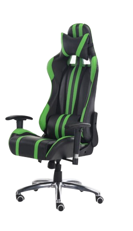 XC Game KM110 180kg Gaming Chairs Black/Green