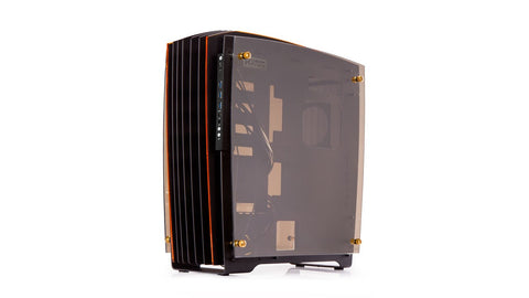 IN-WIN CA02 H-FRAME 2.0 BLACK+YELLOW/GOLD - 991 Solutions - RSA  - 1