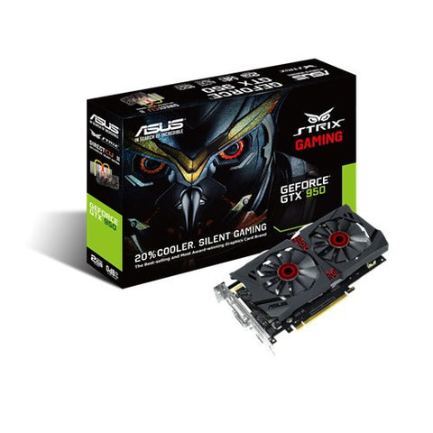 Asus Strix-GTX950-DC2-2GD5 Graphics Card - 991 Solutions - RSA  - 1