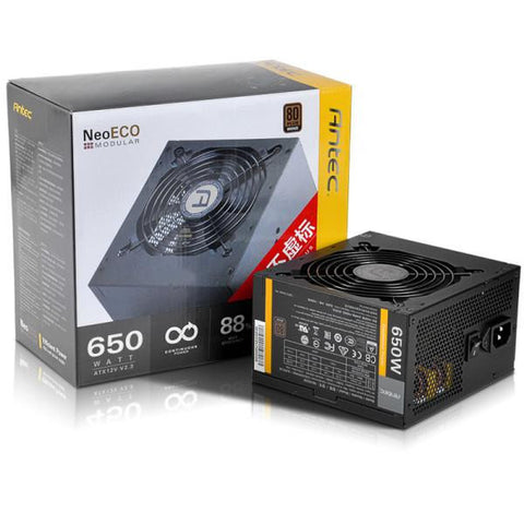 ANTEC NE650M 650W POWER SUPPLY - 991 Solutions - RSA