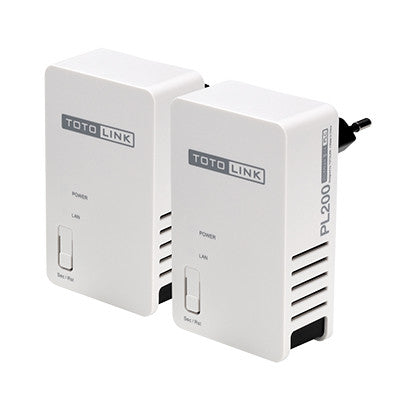 TOTOLINK 200MBPS POWER LINE ADAPTER KIT - 991 Solutions - RSA  - 1