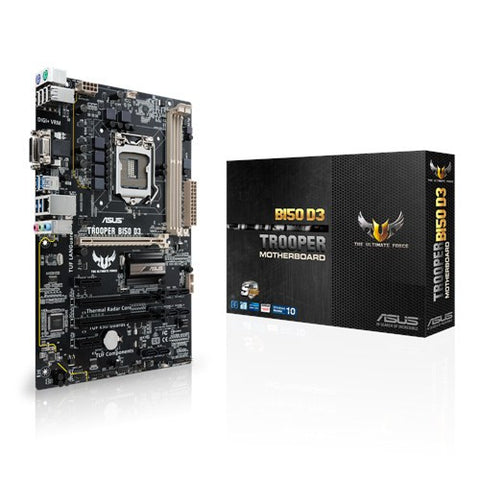 ASUS B150-TROOPER-D3 TUF SERIES - 991 Solutions - RSA  - 1