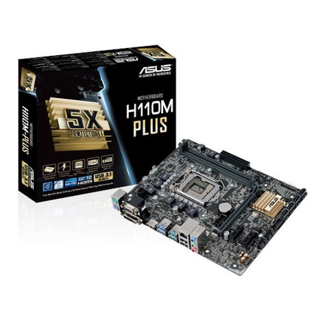 ASUS H110M-PLUS (DDR4) - 991 Solutions - RSA  - 1