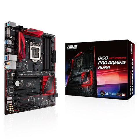 ASUS B150-PRO-GAMING (DDR4) AURA EDITION - 991 Solutions - RSA  - 1
