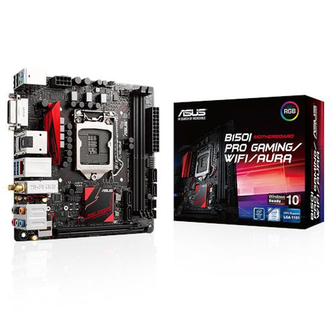 ASUS B150I-PRO-GAMING AURA EDITION WIFI - 991 Solutions - RSA  - 1