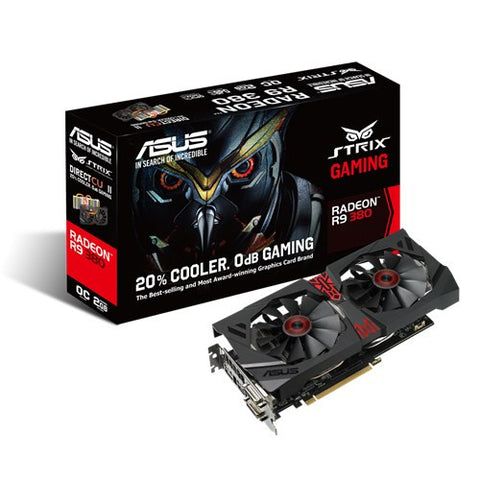 ASUS STRIX-R9380-DC2OC-2GD5-GAMING - 991 Solutions - RSA  - 1
