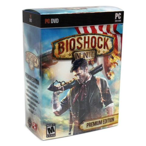 BIOSHOCK - INFINITE PREMIUM EDITION - 991 Solutions - RSA
