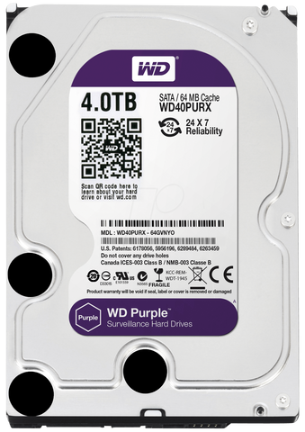 WD® Purple Series - 4.0TB - 991 Solutions - RSA