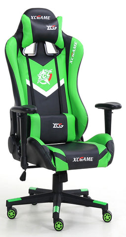 XC Game MAX Gaming Chair 200KG Black & Green - 991 Solutions - RSA