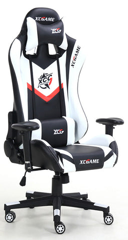 XC Game MAX Gaming Chair 200KG Black & White - 991 Solutions - RSA
