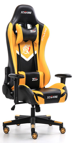 XC Game MAX Gaming Chair 200KG Black & Yellow - 991 Solutions - RSA