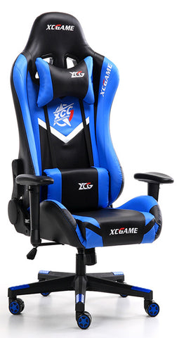 XC Game MAX Gaming Chair 200KG Black & Blue - 991 Solutions - RSA