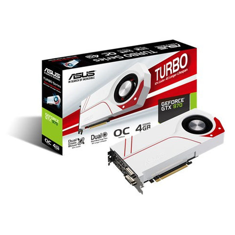 ASUS TURBO-GTX970-OC-4GD5 Graphics Card - 991 Solutions - RSA  - 1