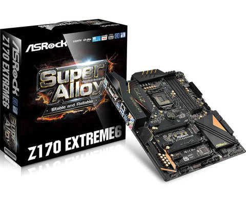 ASROCK® INTEL Z170 EXTREME6 - 991 Solutions - RSA  - 1