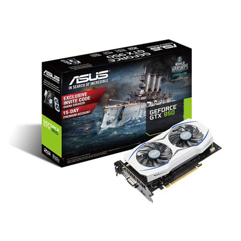 Asus GTX950-2G Graphics Card - 991 Solutions - RSA  - 1