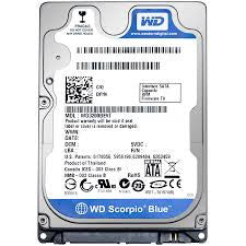 "WD® BLUE SERIES 2.5"" - 1.0TB - 991 Solutions - RSA"