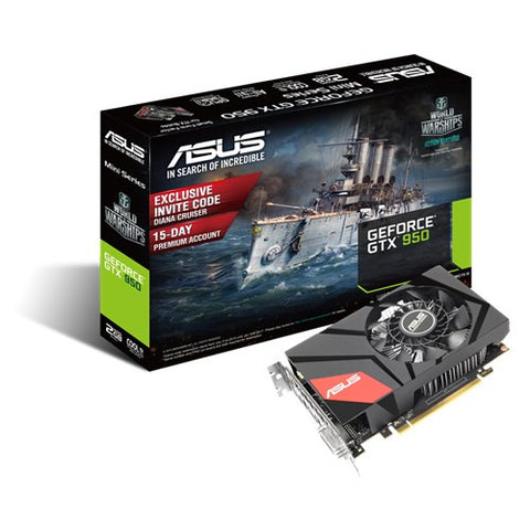 ASUS GTX950-M-2G MINI Graphics Card - 991 Solutions - RSA  - 1