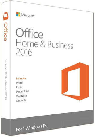 Microsoft Office Home and Business 2016 Retail pack - 991 Solutions - RSA
