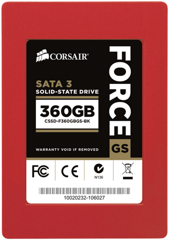CORSAIR SSD 360GB FORCE GS SERIES - 991 Solutions - RSA