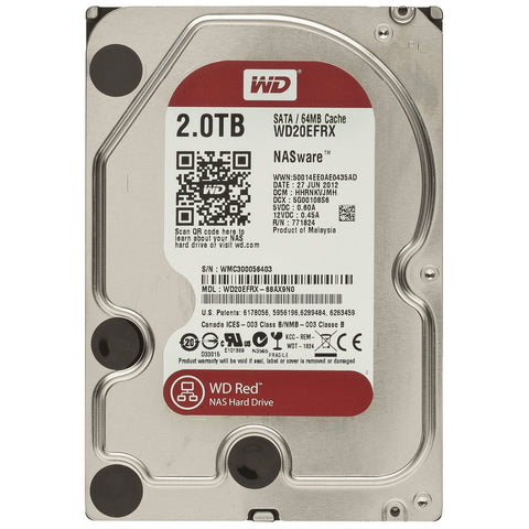 WD® RED SERIES - 2.0TB - 991 Solutions - RSA