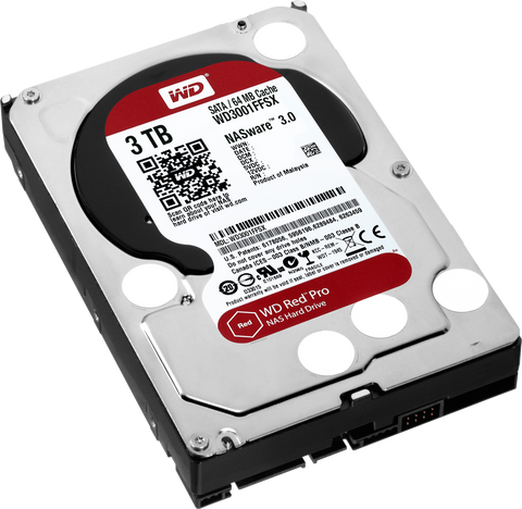 WD® RED SERIES PRO 3.0TB - 991 Solutions - RSA