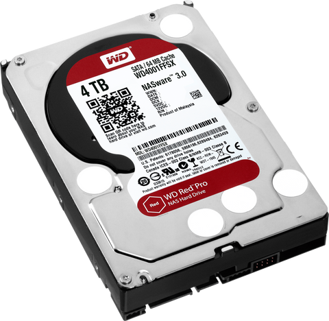 WD® RED SERIES PRO - 4.0TB - 991 Solutions - RSA