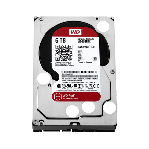 WD® RED SERIES - 6.0TB - 991 Solutions - RSA