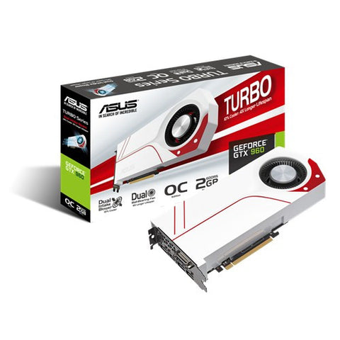 ASUS TURBO-GTX960-OC-2GD5 Graphics Card - 991 Solutions - RSA  - 1