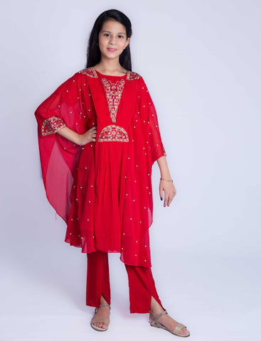 Noor - Red - Modest Clothing