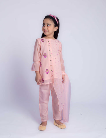 Peach Bloom - Modest Clothing