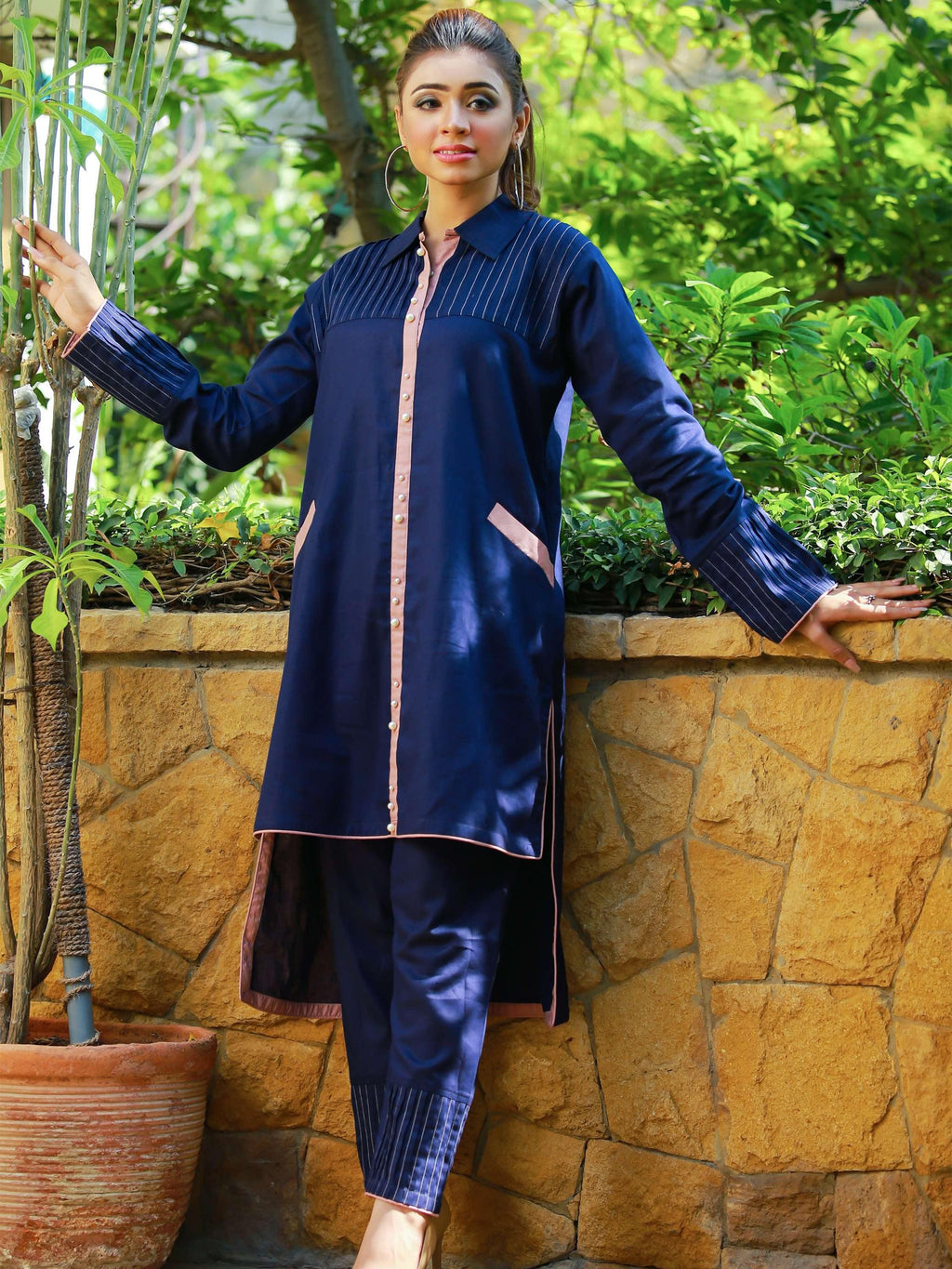 Garnet - Blue - Modest Clothing
