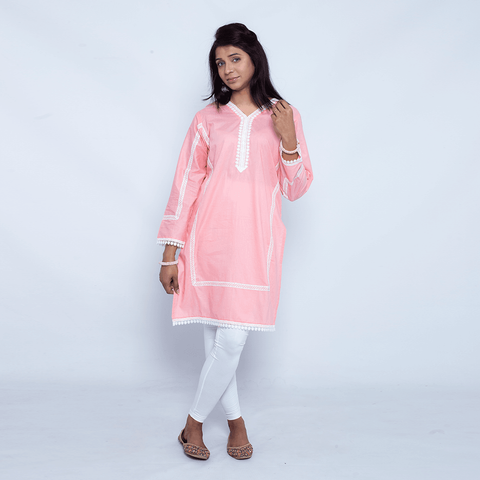 Grace Lace Shirt - Gajri - Modest Clothing
