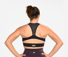Load image into Gallery viewer, Courage Sports Bra in Black