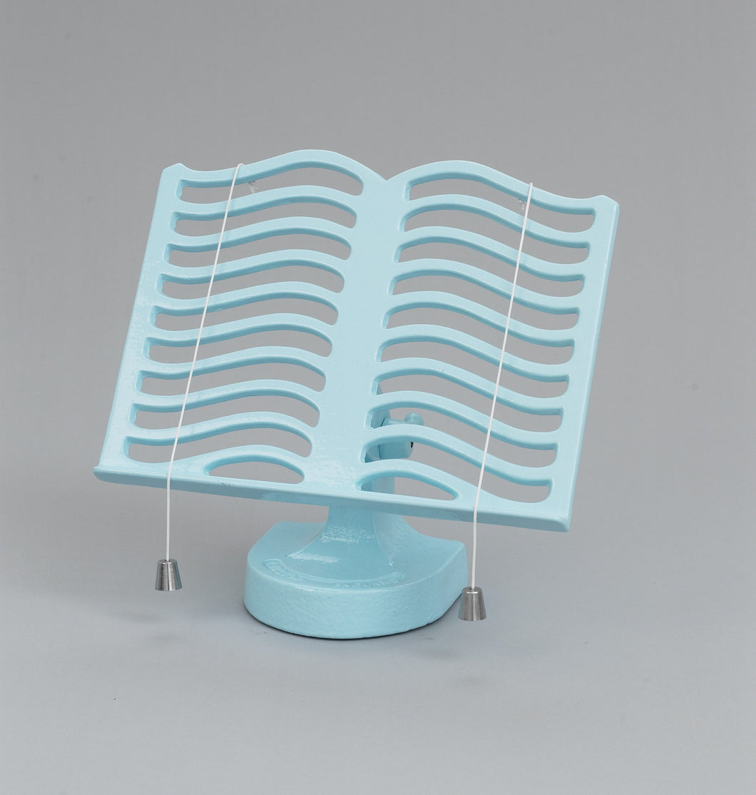 RW315PB Cast Iron Robert Welch Cook Book Stand, Pale Blue